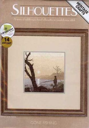 Gone Fishing Counted Cross Stitch Kit